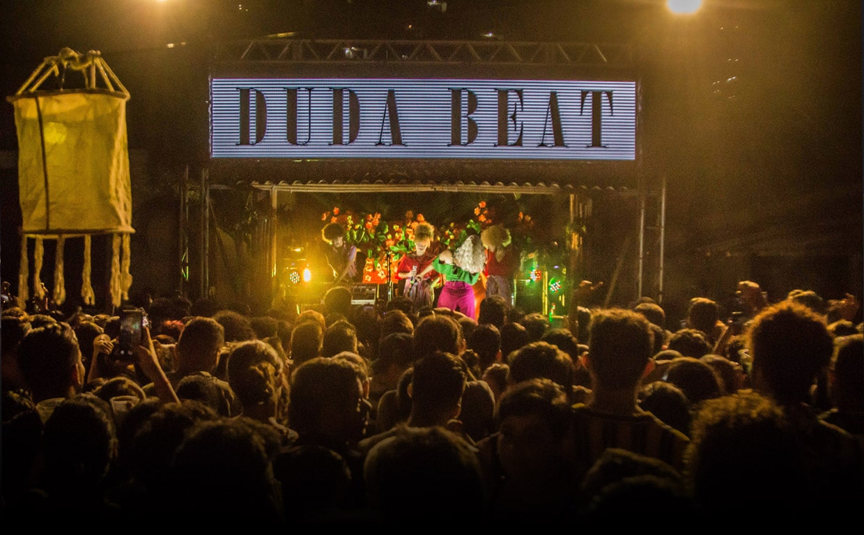 Caixa de Evento - Duda Beat